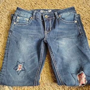 Girls Seven 7 Brand Size 12 Jeans/1008